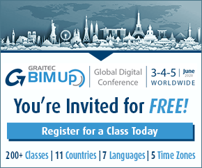 Graitec BIMUp Global Digital Conference Homepage Banner