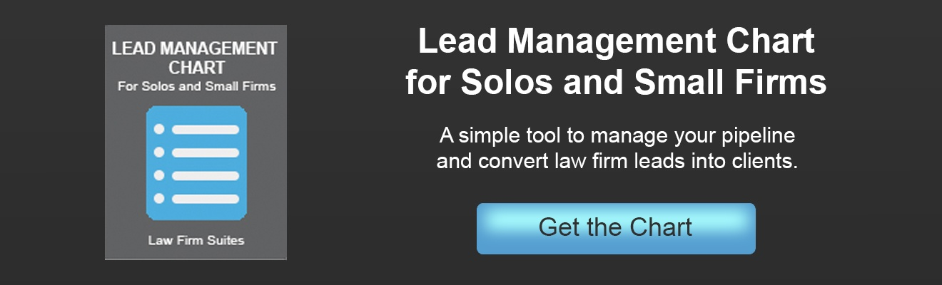 Lead Management Chart for Solos and Small Firms