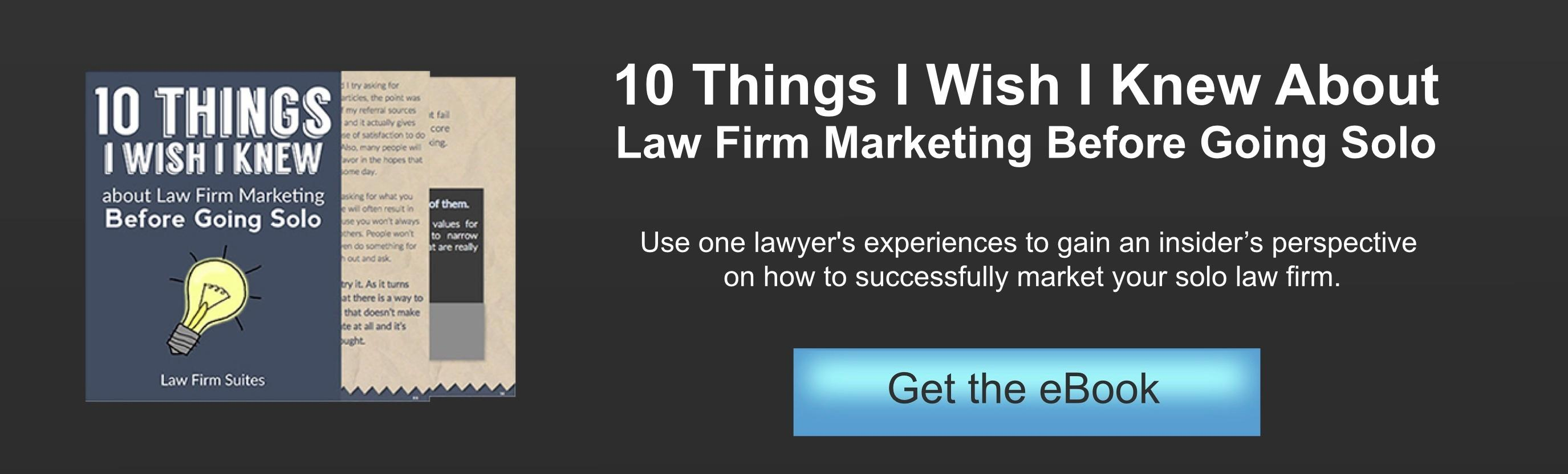 law firm marketing ebook