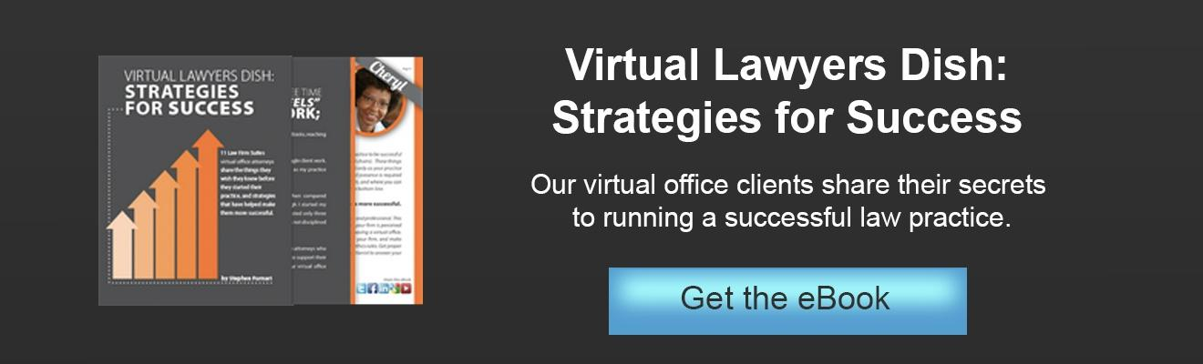 eBook: Virtual Lawyers Dish: Strategies for Success