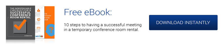 The indispensable checklist for a successful conference room rental