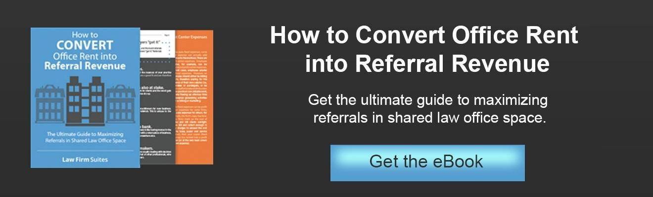 Convert Office Rent to Referral Revenue