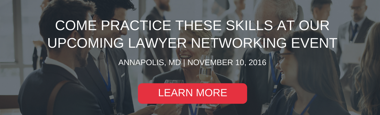 Annapolis Attorney Networking Event
