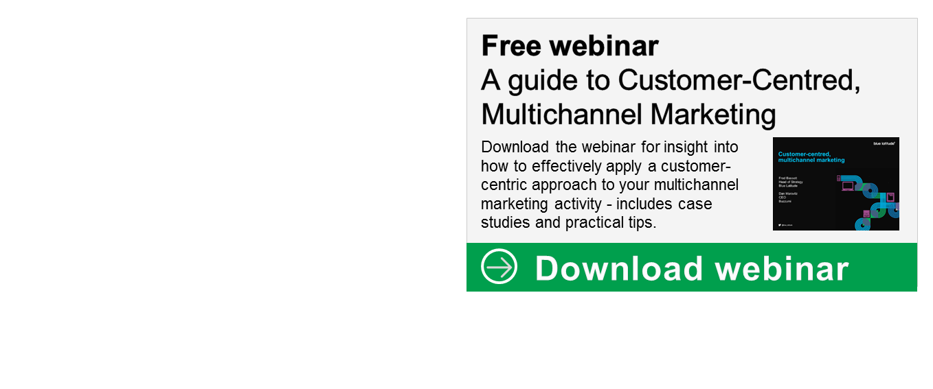 Customer-centred, multichannel marketing webinar recording