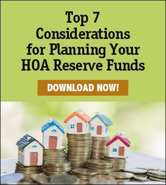 Top 7 Considerations for Planning Your HOA Reserve Funds