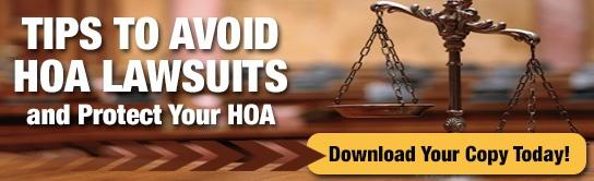 Tips to avoid california hoa lawsuits