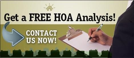 Get a Free HOA Analysis