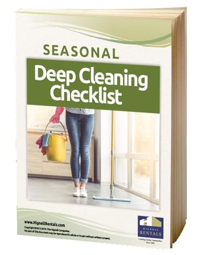 Seasonal Deep Cleaning Checklist