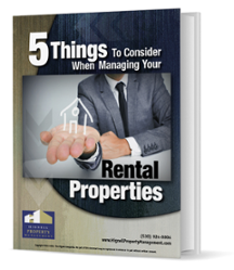 5 Things to Consider When Managing Your Rental Properties