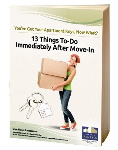 13 Things To-Do Immediately After Move-In