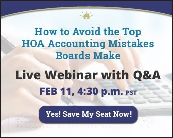 HOA Accounting Webinar Winter 2021