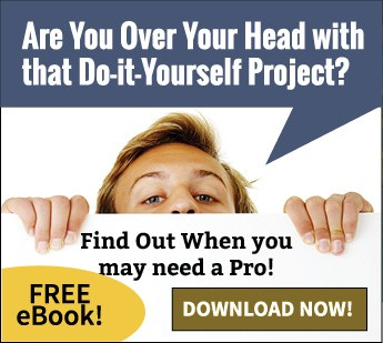 Man looking over wall- In over your head with a Do-it-Yourself Project?