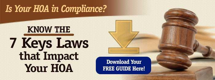 7 key laws that impact your hoa