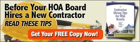 Tips for Hiring a Contractor for HOA Boards