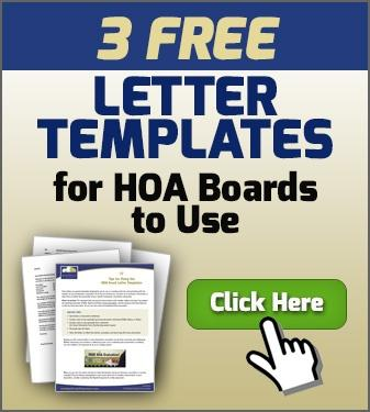 Free Letter Templates for HOA Boards