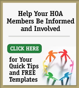 Help Your HOA Members Be Informed and Involved with these Quick Tips & Templates