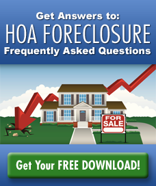 Frequently asked Question - HOA Foreclosures