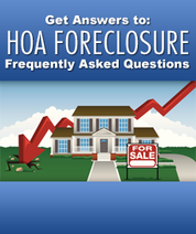 hoa foreclosures Frequently Asked Questions