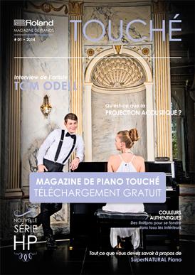 Magazine de piano Touché: Téléchargement gratuit