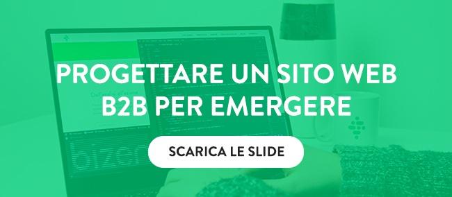 Scarica le slide sulla Progettazione di un sito web B2B