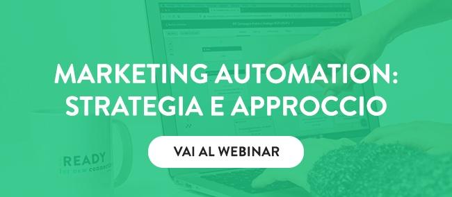 Via al Webinar sulla Marketing Automation