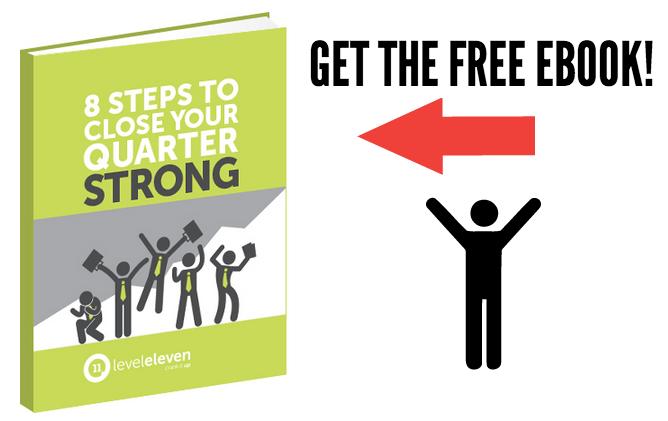 8 Steps to Close Your Quarter STrong