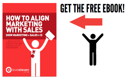 Get the Free Ebook - graphic - Sales Marketing Alignment
