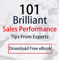 cover of eBook on brilliant sales performance tips from experts