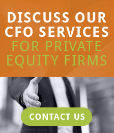 CFO services for private equity firms