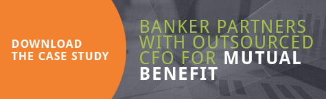 Banker partners with outsourced CFO for mutual benefit