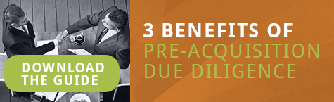 3 Benefits of Pre Acquisition Due Diligence