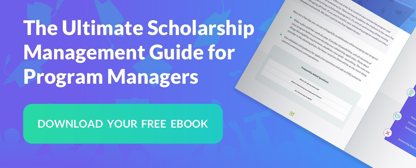 Download eBook: The Ultimate Scholarship Management Guide for Program Managers