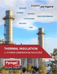 Pyrogel HPS Thermal Insulation for Power Generation Facilities