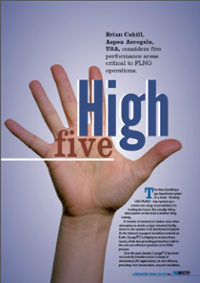 LNG Industry Article High Five July 2014