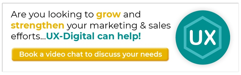 Are you loooking to grow and strengthen your marketing & sales efforts...UX-Digital can help!