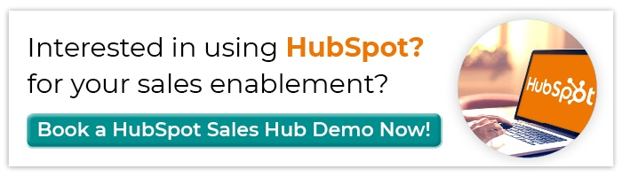 Interested in using HubSpot for your Sales Enablement? Book A HubSpot Sales Hub Demo With UX-Digital!