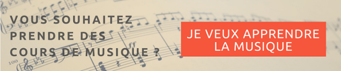 Je veux prendre des cours de musique !