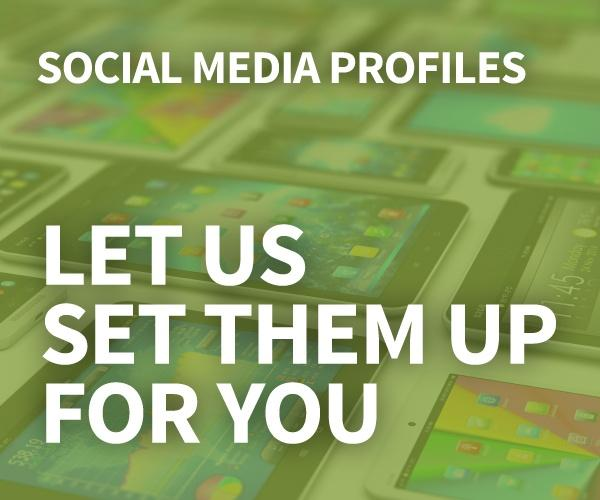 Free Social Media Profile Setup