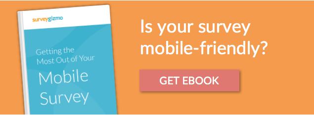 running mobile surveys