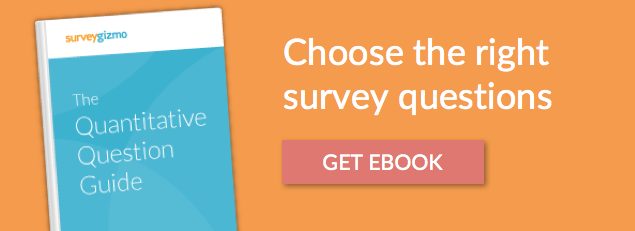 guide to choosing survey questions