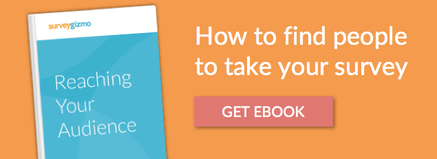 find people to take your survey ebook