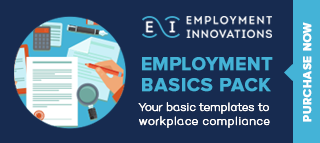 Employment Basics Pack - Your basic templates to workplace compliant. Purchase now!