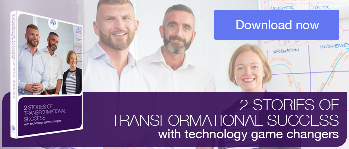 3 Stories of Transformational Change with Technology Gamechangers