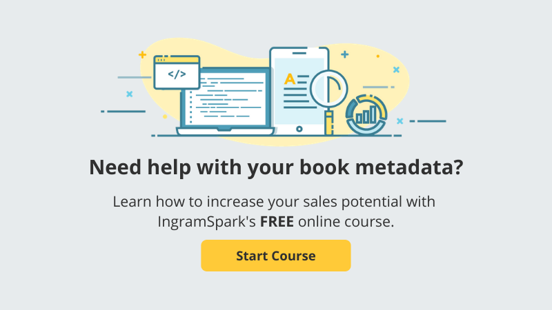 Take IngramSpark's Free Online Course, Metadata for Books