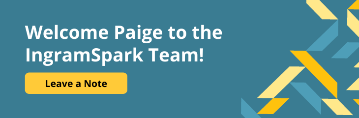 Welcome Paige to the IngramSpark Team