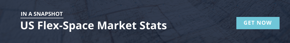 US flexible workspace market stats