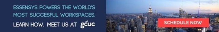 Meet essensys at GCUC in NYC