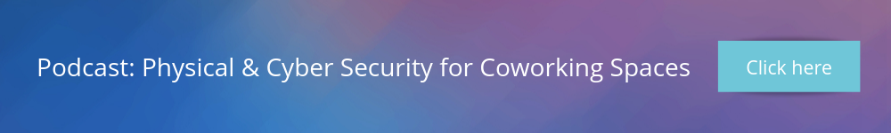 Physical and cyber security for coworking spaces