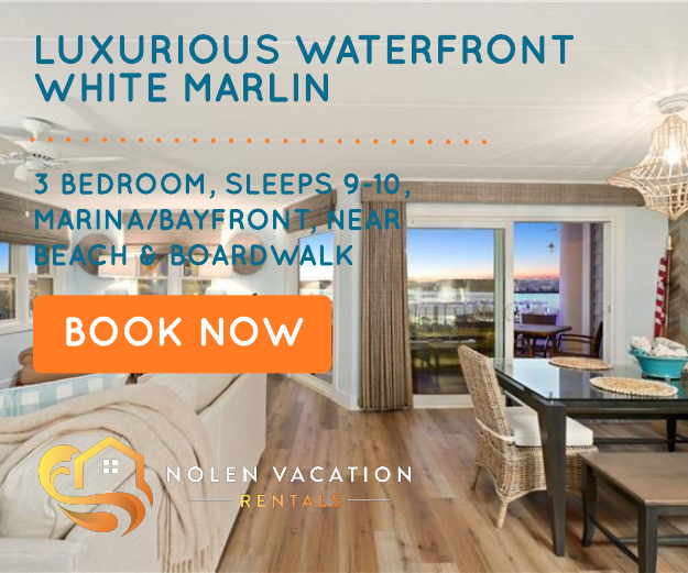 Book the White Marlin