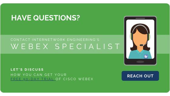 Cisco Webex Free 90-Day Trial - Internetwork Engineering